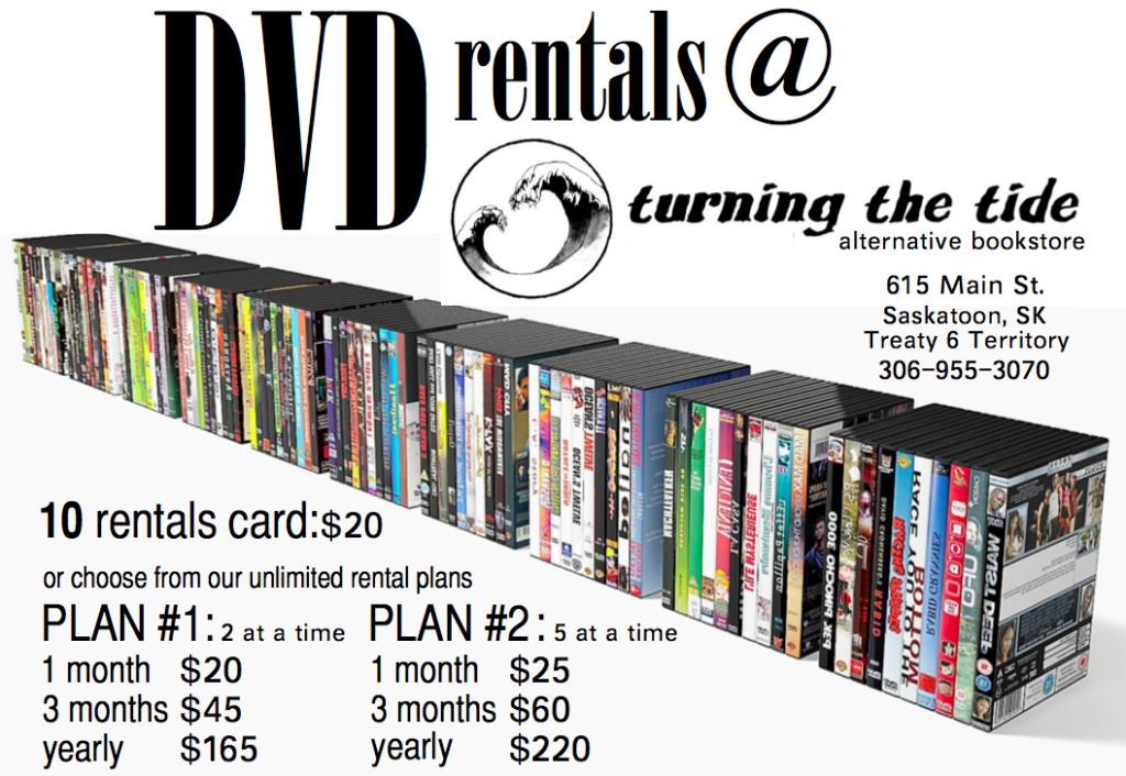 DVD rental plans